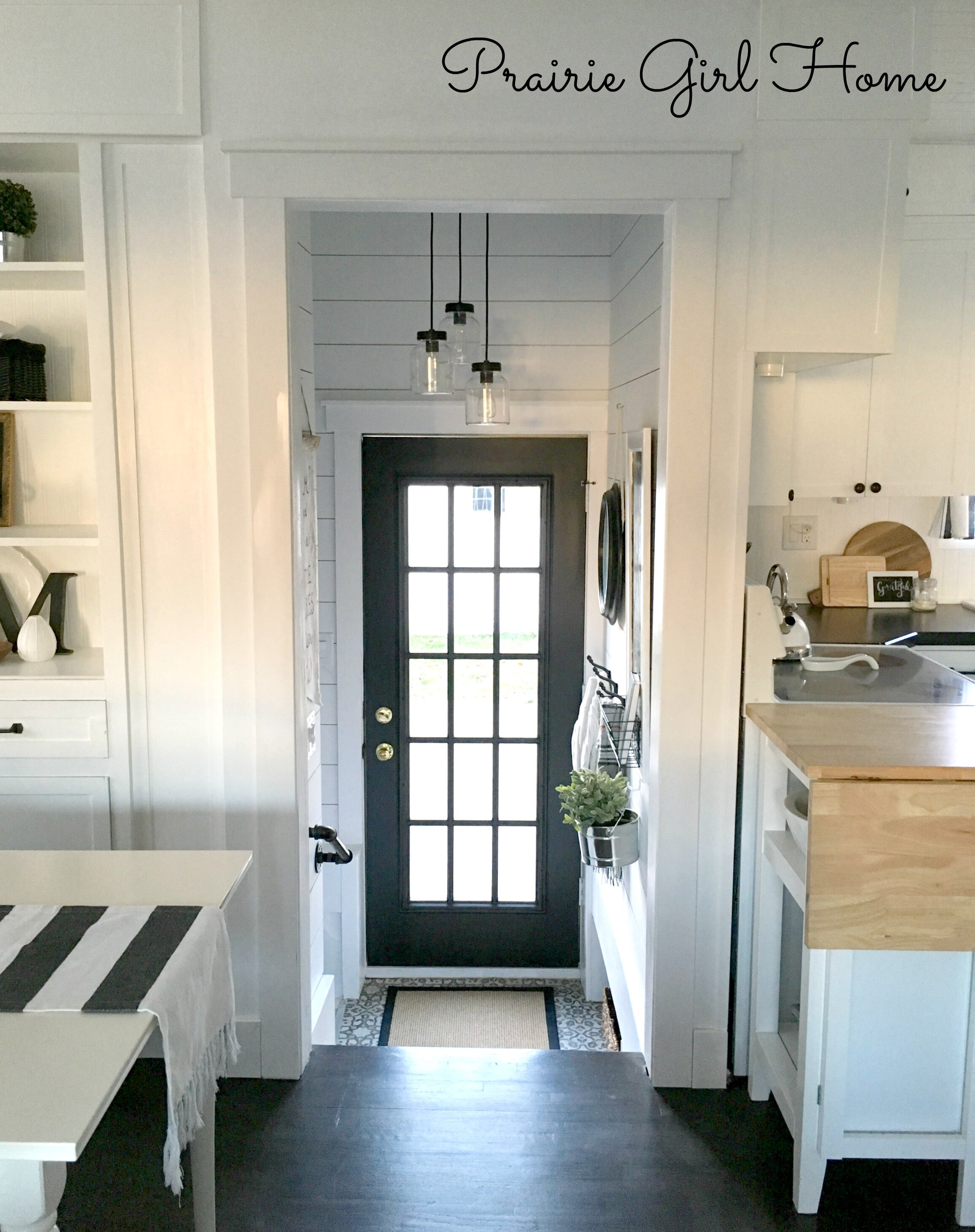 Our Glam Cottage Foyer Reveal